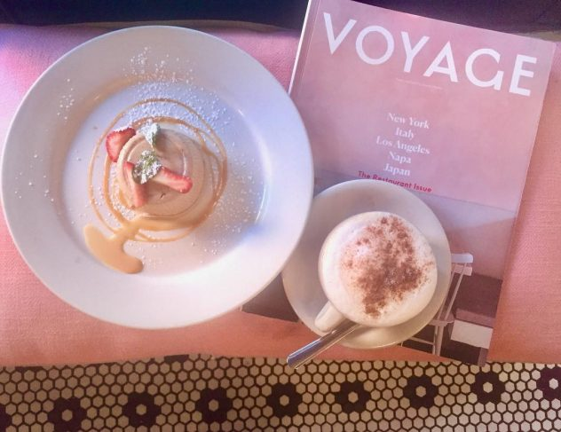 Latte with Voyage Magazine